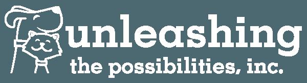 Unleashing the Possibilities, Inc. Logo - White
